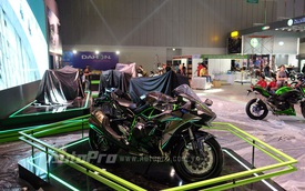 Toàn cảnh triển lãm xe máy đầu tiên tại Việt Nam trước giờ khai mạc