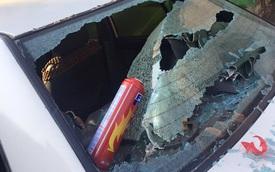 Lạng Sơn: Bình cứu hỏa 140.000 Đồng phát nổ làm vỡ kính xe Nissan