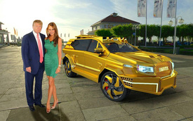 Choáng với SUV bọc thép mạ vàng dành cho tân Tổng thống Mỹ Donald Trump