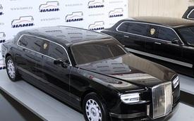 Limousine của Tổng thống Nga trình làng, dùng động cơ Porsche