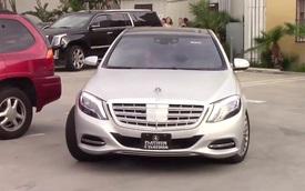"""Vợ chồng cô Kim """"siêu vòng ba"""" tậu xe siêu sang Mercedes-Maybach S600"""