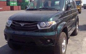Cận cảnh lô xe Nga UAZ sắp ra mắt Việt Nam tại cảng Hải Phòng