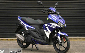 """Soi"" kỹ xe ga thể thao Yamaha Aerox 125LC vừa ra mắt"