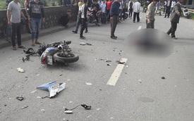 Hà Nội: Yamaha Exciter đấu đầu xe tải, một thanh niên tử vong tại chỗ