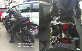 Yamaha R15 thế hệ mới liên tục bị bắt gặp trên đường thử