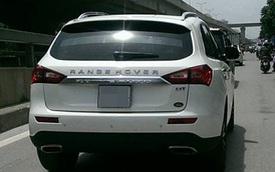 Xe Trung Quốc gắn tên Range Rover gây tò mò trên đường Hà Nội