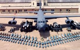 Khám phá khả năng chứa vũ khí siêu hạng của máy bay ném bom B-52 Mỹ