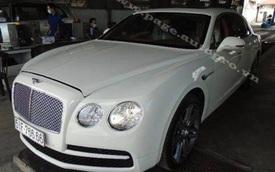 """Sài Gòn: Choáng với xe siêu sang Bentley 10 tỷ Đồng mang biển """"tứ quý"""" 6"""