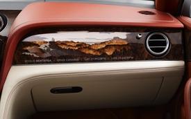Xem cách Bentley chế tác dãy núi trong SUV siêu sang Bentayga