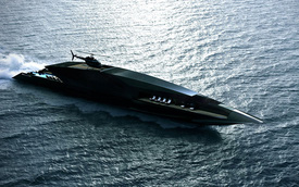 """""""Thiên Nga Đen"""" - Siêu du thuyền mang thiết kế viễn tưởng"""