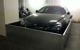 Sài Gòn: Dùng inox quây kín BMW 640i Gran Coupe để... chống chuột