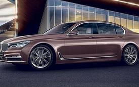 BMW 7-Series màu vàng hồng ra mắt, giá gần 200.000 USD
