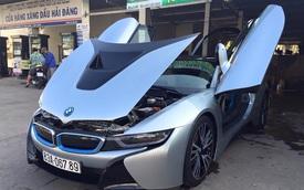 """BMW i8 của con đại gia vé số Sóc Trăng đeo biển """"khủng"""""""