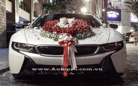 Thiếu gia Hải Phòng rước dâu bằng BMW i8 7 tỷ Đồng