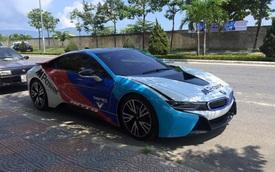 Thêm một chiếc BMW i8 tại Đà Nẵng lên tem cực chất