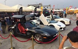 Bộ 3 siêu xe xuất hiện trong ngày hội tại Campuchia