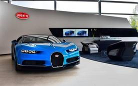 Đã có tổng cộng 220 chiếc siêu xe Bugatti Chiron tìm thấy mái ấm