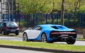 Siêu phẩm Bugatti Chiron đầu tiên lăn bánh tại Đức