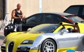 Dùng Bugatti Veyron làm xe Uber tại Dubai
