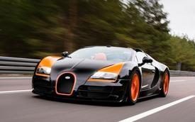 Hàng nghìn siêu xe Bugatti Veyron bị triệu hồi để sửa 3 lỗi