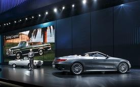 Vén màn dàn xe 2 cửa hấp dẫn của Mercedes Benz tại VIMS 2016