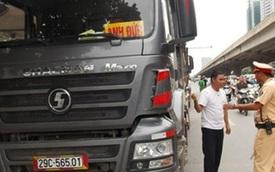 Cấm xe tải lưu thông trong nội thành Hà Nội dịp cận Tết Nguyên Đán