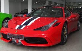 Cận cảnh Ferrari 458 Speciale độc nhất Việt Nam