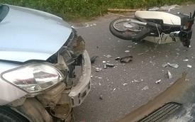 Hà Nội: Chạy ngược chiều người lái taxi gây tai nạn nghiêm trọng