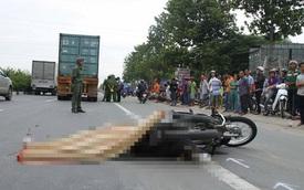 Đi thực tập về, nữ sinh viên bị xe container cán chết