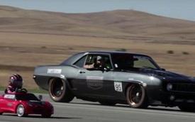 Xem bé gái 5 tuổi đua xe với Chevrolet Corvette, bạn có thấy phấn khích không?