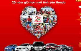 Honda Việt Nam tri ân khách hàng nhân kỷ niệm 20 năm thành lập