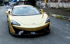 """McLaren 570S từng thuộc sở hữu của Cường """"Đô-la"""" khoác áo mới 8 triệu Đồng"""