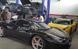 Khám phá quy trình bảo dưỡng siêu xe Ferrari tại Việt Nam