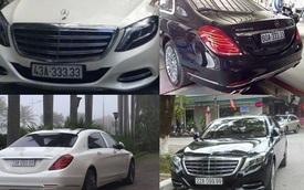 """Dàn xe Mercedes-Maybach S600 biển """"khủng"""" của đại gia Việt"""