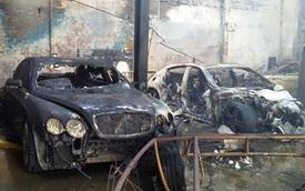 Điểm danh dàn xe 50 tỷ Đồng bị thiêu rụi trong vụ cháy gara Thần Châu