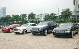 """Diện kiến dàn """"chân dài"""" trị giá 60 tỷ Đồng của Bentley trước thềm triển lãm VIMS 2016"""