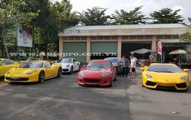 """Đoàn siêu xe Việt Nam Team """"đổ quân"""" lên Đà Lạt"""