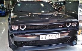 Cận cảnh Dodge Challenger SRT Hellcat 2015 độc nhất Việt Nam