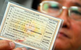 Từ 4/7, Hà Nội đổi giấy phép lái xe tại cơ quan