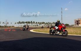 Biker Việt trải nghiệm Ducati tại trường đua mô tô đầu tiên Việt Nam