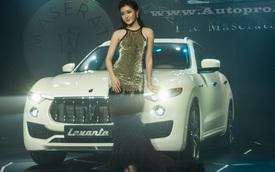 Cận cảnh Maserati Levante 5 tỷ Đồng tại thị trường Việt Nam