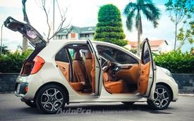 Chủ xe Thanh Hóa độ nội thất Kia Morning theo phong cách Mercedes-Benz và Porsche