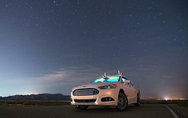 Ford thử nghiệm thành công xe tự hành trong đêm