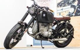"""Mô tô cổ BMW R90/6 """"lột xác"""" ấn tượng tại Hà Nội"""