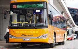 Khám phá xe buýt mới đi sân bay Nội Bài