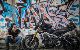 """Gặp biker Hà thành """"bụi phủi"""" bên Yamaha MT-09"""