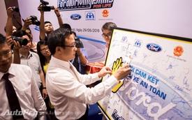 """Ford Việt Nam tiếp tục chương trình """"Hướng dẫn lái xe an toàn"""" lần thứ 9"""