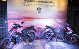 Honda Winner 150 chính thức chốt giá từ 45,49 triệu Đồng