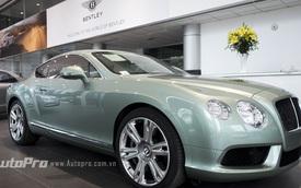 Ngẩn ngơ ngắm Bentley Continental GT xanh ngọc lục bảo độc nhất Việt Nam
