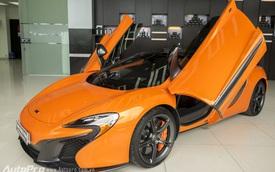 Cận cảnh siêu xe McLaren 650S Spider độc nhất Hà Nội